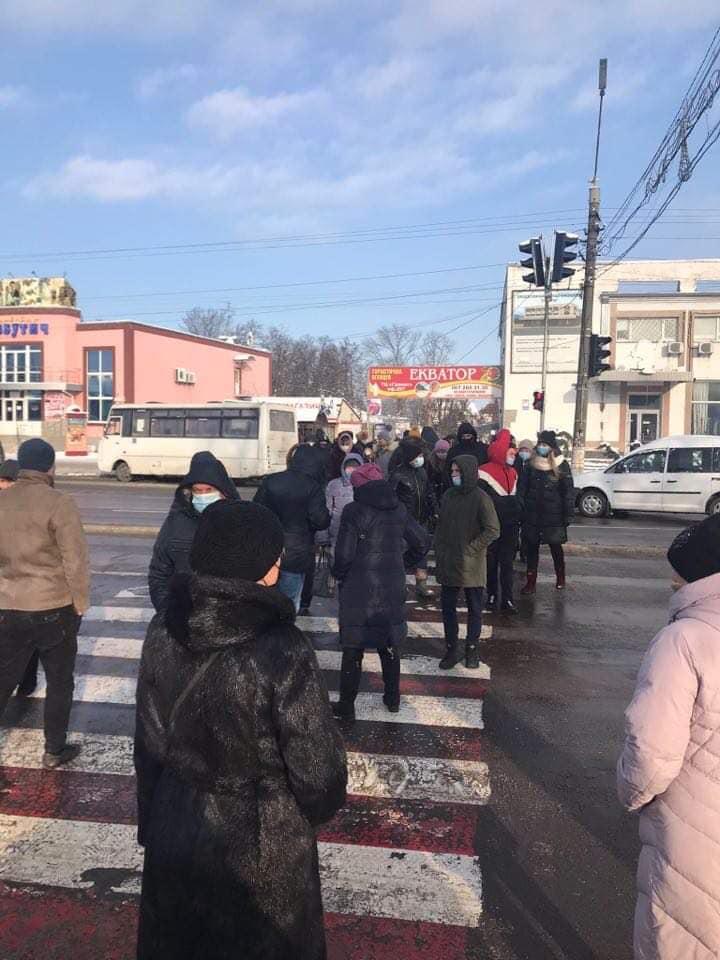 У Борисполі протестувальники перекривали дорогу - ціна на газ, протест, газ - 139871837 3662494043827336 2663335786955302305 n