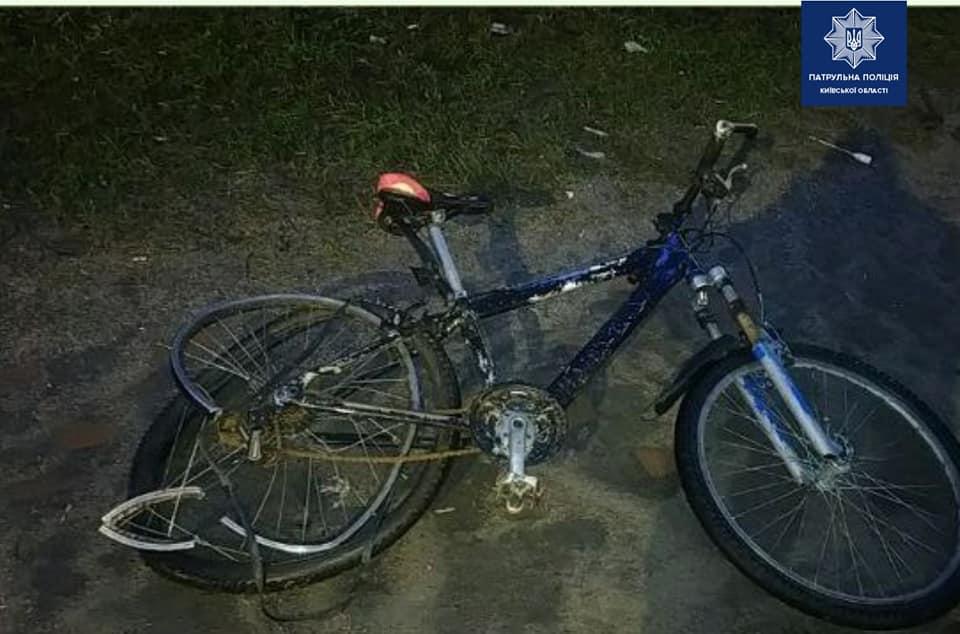 У Вишневому п'яний водій вантажівки збив велосипедиста - п'яний водій, Києво-Святошинський район, велосипед - 141723371 2002601159913467 1991160539967885693 n