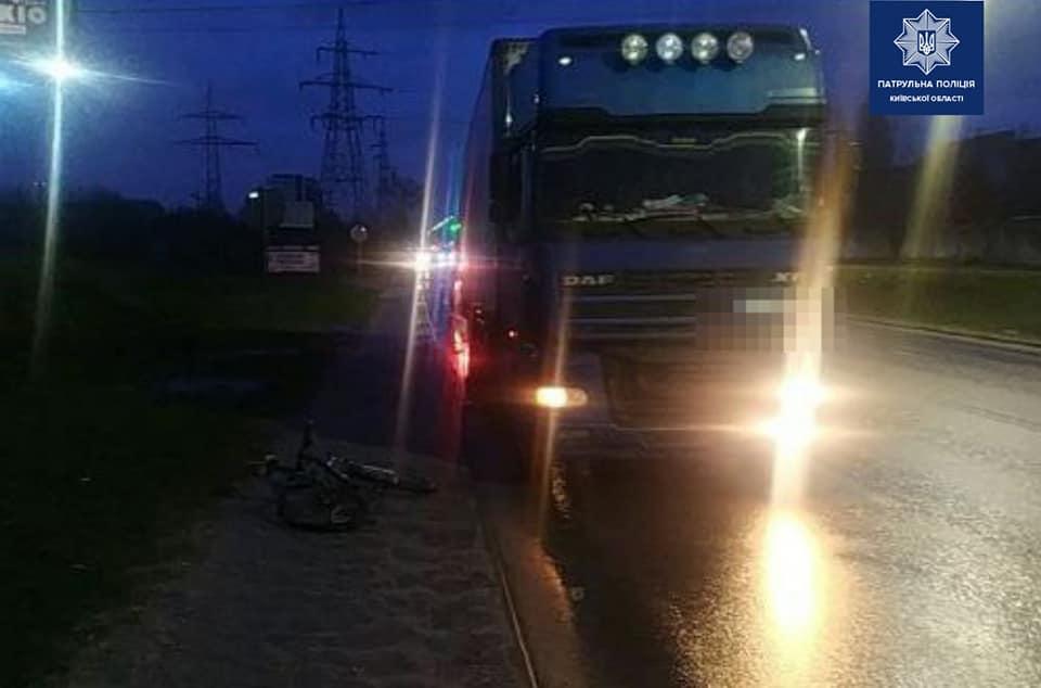 У Вишневому п'яний водій вантажівки збив велосипедиста - п'яний водій, Києво-Святошинський район, велосипед - 141958315 2002601126580137 4823270676947108888 n