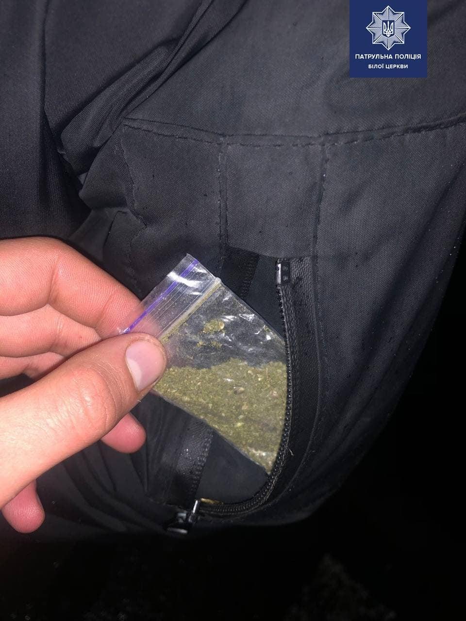 У Білій Церкві патруль виявив наркотичні речовини у двох громадян - Патрульна поліція Білої Церкви, Наркотичні речовини, наркотики, канабіс - 142417364 1895808497252868 6050500738528030334 o