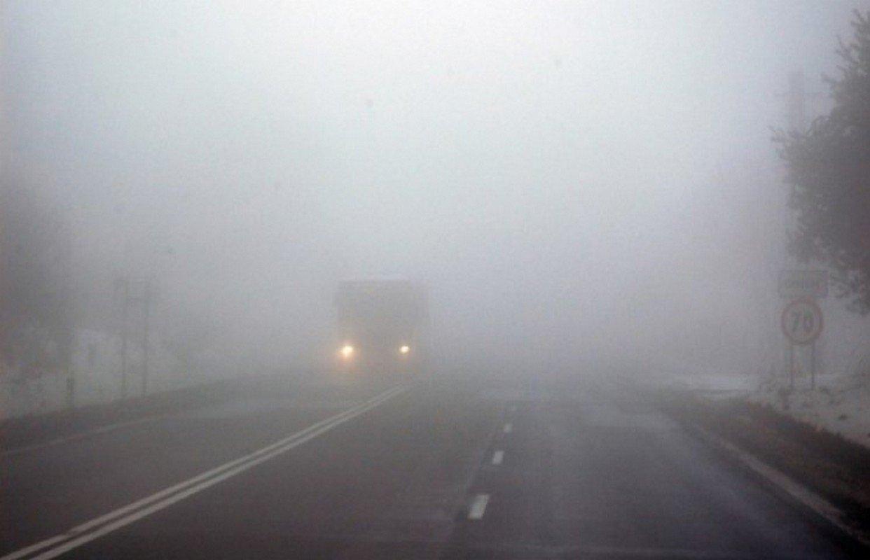 У ДСНС попереджають водіїв про сильний туман - туман, погода, автомобілі - 1542009822 5be5e394d712b 169161