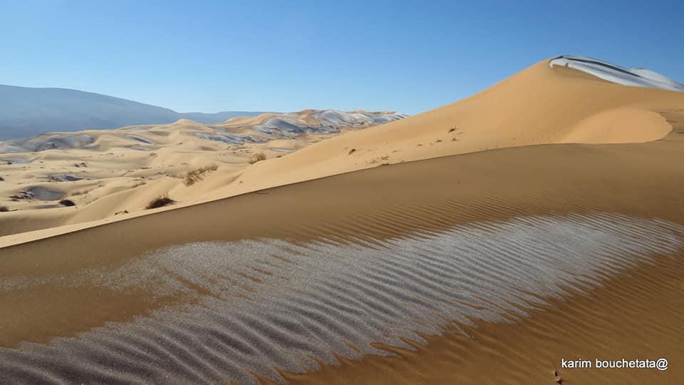 У Сахарі випав сніг - сніг, погода, Мороз, Єгипет, Африка - 19 sahara3
