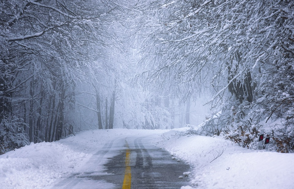 За добу на Київщині випало до 10 см снігу - снігопад, сніг, ожеледиця, жовтий рівень небезпеки - 29 sneg