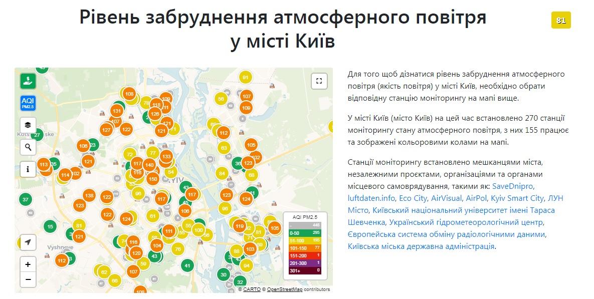 Київ знов у топ-20 міст із найбруднішим повітрям у світі - столиця, повітря, забруднення повітря, забруднення довкілля, забруднене повітря - 29 vozduh3
