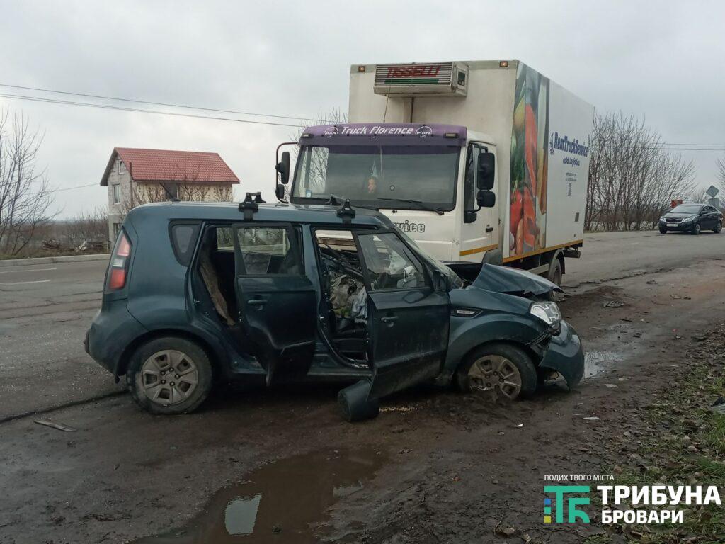 Під Броварами у ДТП з вантажівкою постраждав дідусь - постраждалий, вантажівка, Аварія на дорозі - 5 1024x768 1