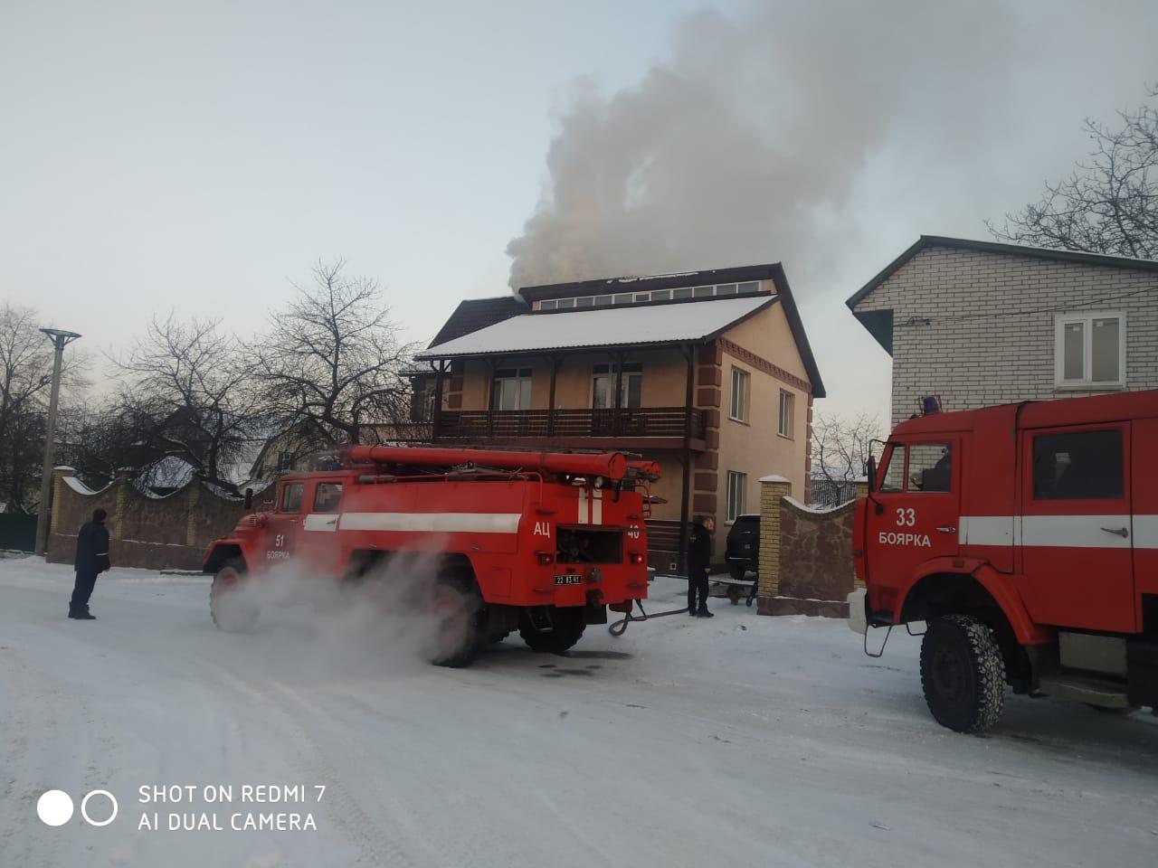 У Тарасівці горів двоповерховий будинок - Тарасівка, пожежа будинку, горів будинок - 54E2F0E5 AD4D 4AA6 A854 57C96132D6AA