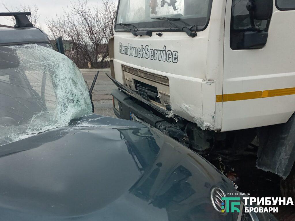 Під Броварами у ДТП з вантажівкою постраждав дідусь - постраждалий, вантажівка, Аварія на дорозі - 6 1024x768 1