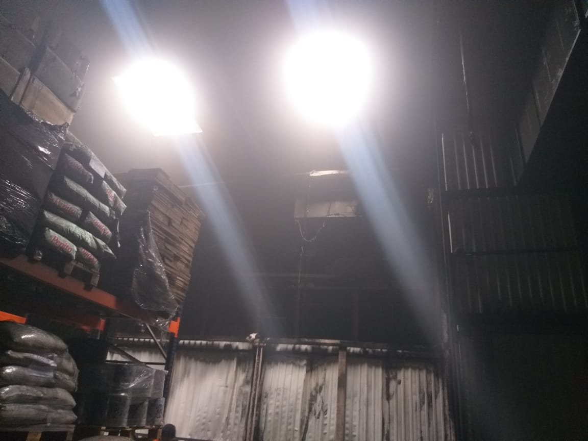 У Борисполі горів склад - склади, пожежа, вогонь - IMG 20210124 WA0012