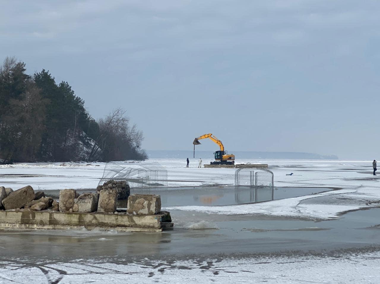 На Вишгородщині намагались незаконно створити бухту - Лютіж, Київський рибоохоронний патруль, Вишгородський район - Lyutizh3