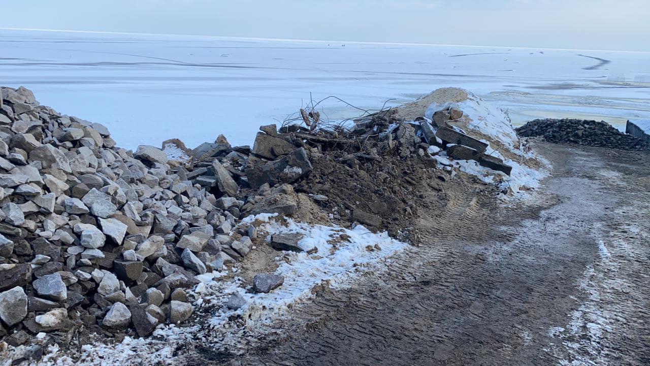 На Вишгородщині намагались незаконно створити бухту - Лютіж, Київський рибоохоронний патруль, Вишгородський район - Lyutizh5