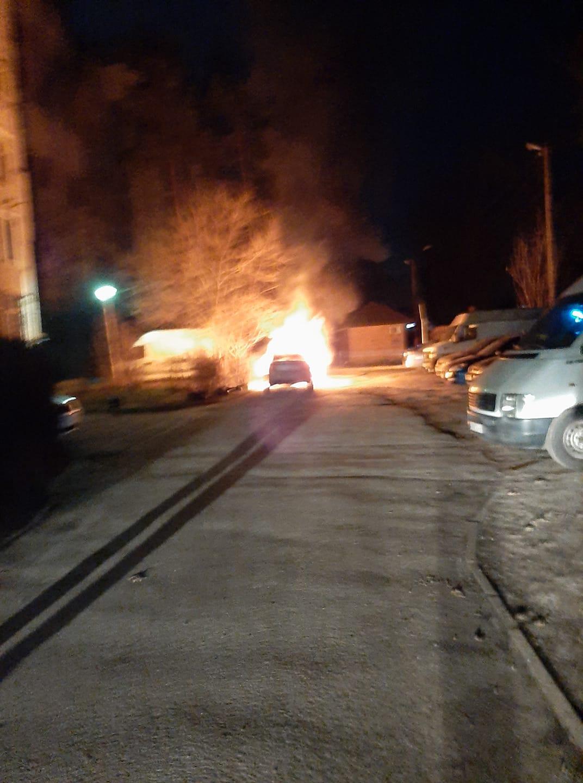 Колишній очільниці Коцюбинського Ользі Матюшиній спалили машину - підпал, Матюшина, Коцюбинська ОТГ, київщина - Mat spal mash 1