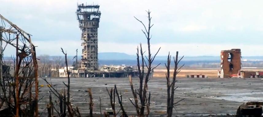 Річниця: Україна пам'ятає подвиг «кіборгів» Донецького аеропорту - Кіборги, Захисники, Донецьк - Ruins of Donetsk International airport 16