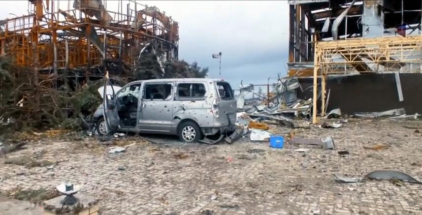Річниця: Україна пам'ятає подвиг «кіборгів» Донецького аеропорту - Кіборги, Захисники, Донецьк, АТО (ОСС) - Ruins of Donetsk International airport 20