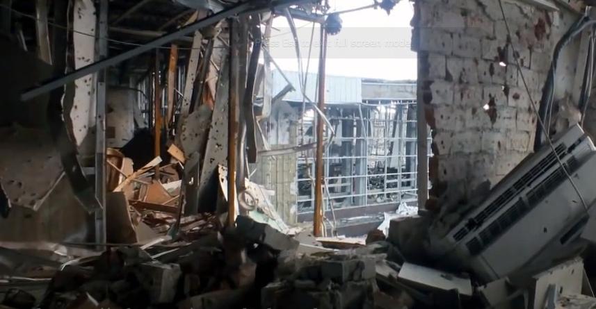 Річниця: Україна пам'ятає подвиг «кіборгів» Донецького аеропорту - Кіборги, Захисники, Донецьк - Ruins of Donetsk International airport 35