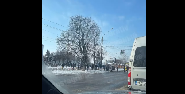 У Борисполі протестувальники перекривали дорогу - ціна на газ, протест, газ - Screenshot 2 2