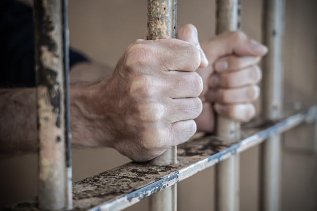 12 січня – День українського політв'язня - українські політв'язні, російська окупація, політв'язень - close up of prisoner hands in jail 110488 1729