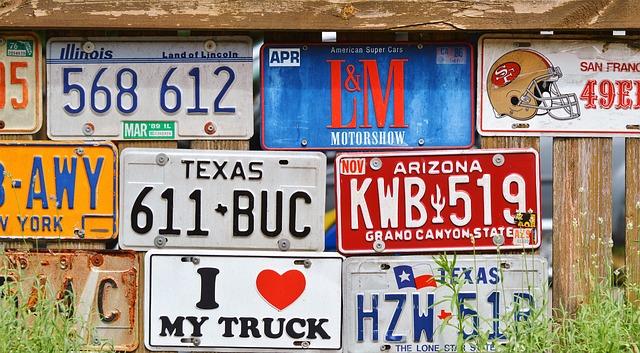 """Відтепер штрафувати """"євробляхерів"""" можуть патрульні - штрафи, ПДР, """"євробляхи"""" - license plate 2438214 640"""