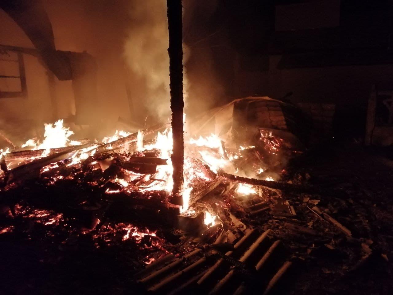 Неподалік Чорнобиля мало не згоріла церква - Чорнобиль, церква, рятувальники, Іванківський район, вогонь - photo 2021 01 18 11 16 40