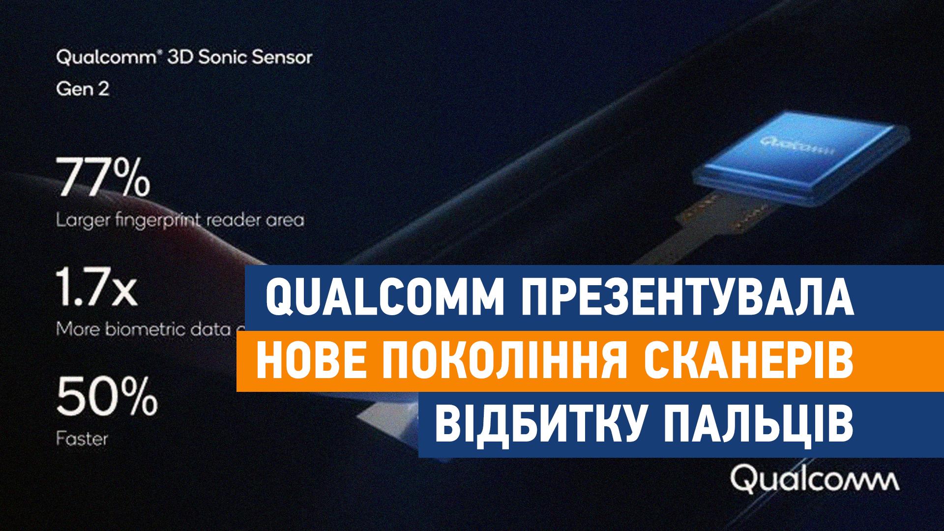 Qualcomm презентувала нове покоління сканерів відбитку пальців - технології, смартфо, новини, Анонс - shablon poglyad site