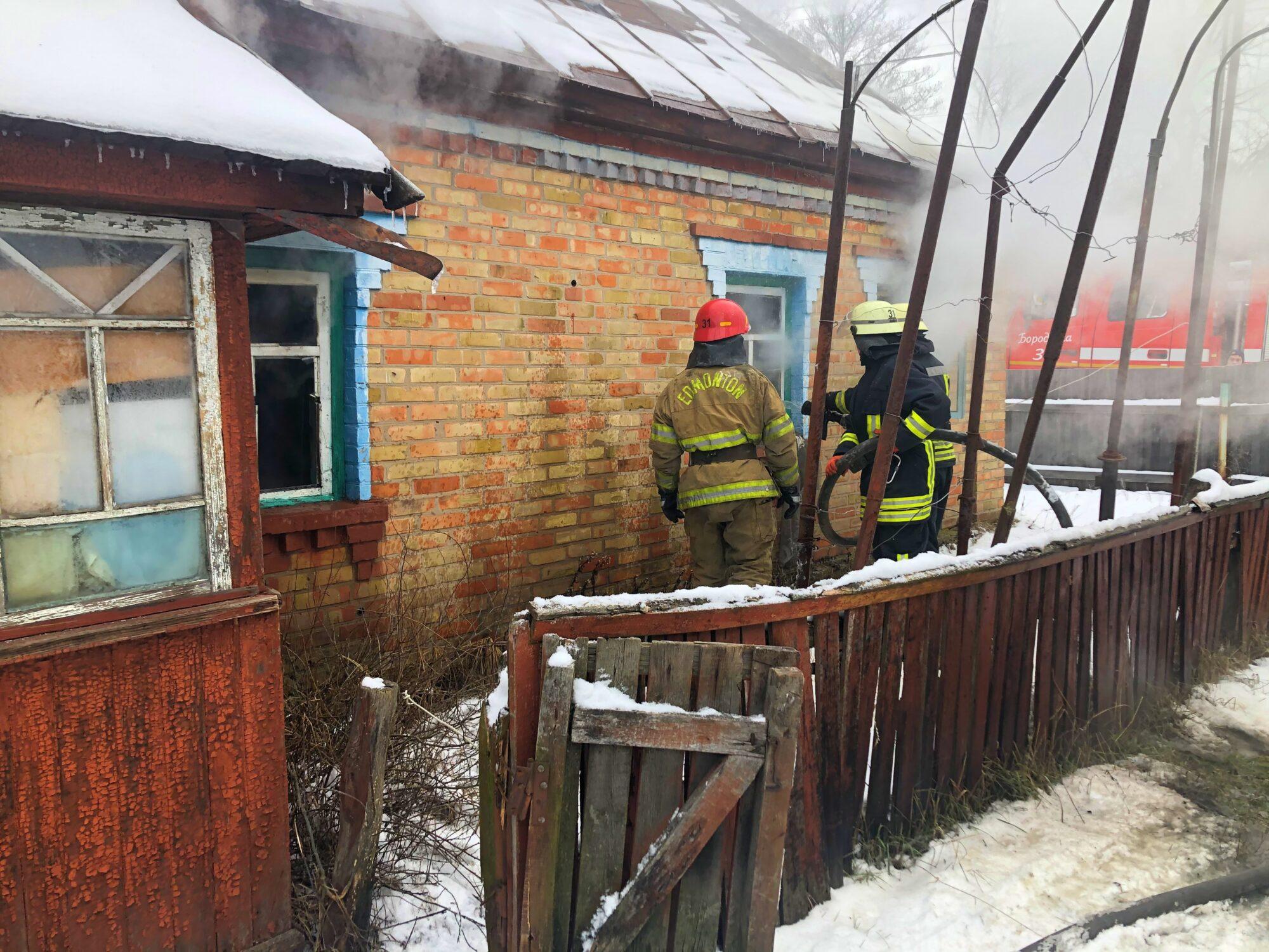 На Київщині під час пожежі у власному будинку загинув господар - смерть, Здвижівка, згоріла будівля, згорів будинок - 01 1 2000x1500