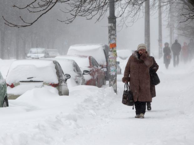 8 лютого на Київщині хуртовини та жовтий рівень небезпечності - снігопад, погода, ожеледиця - 03184123  large