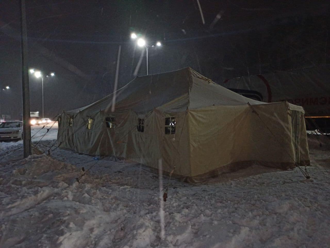 Жовтий рівень небезпеки: 9 лютого негода продовжить «атакувати» Київщину - снігопад, погодні умови, ожеледиця, негода, жовтий рівень небезпеки - 09 led3