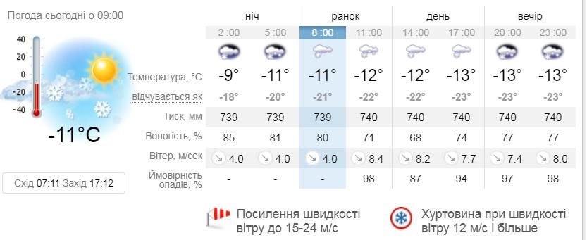 Погодні випробовування продовжуються: Київщину попередили про хуртовину - штормове попередження, шквальний вітер, снігопад, погода, жовтий рівень небезпеки - 12 poperdzhennya2