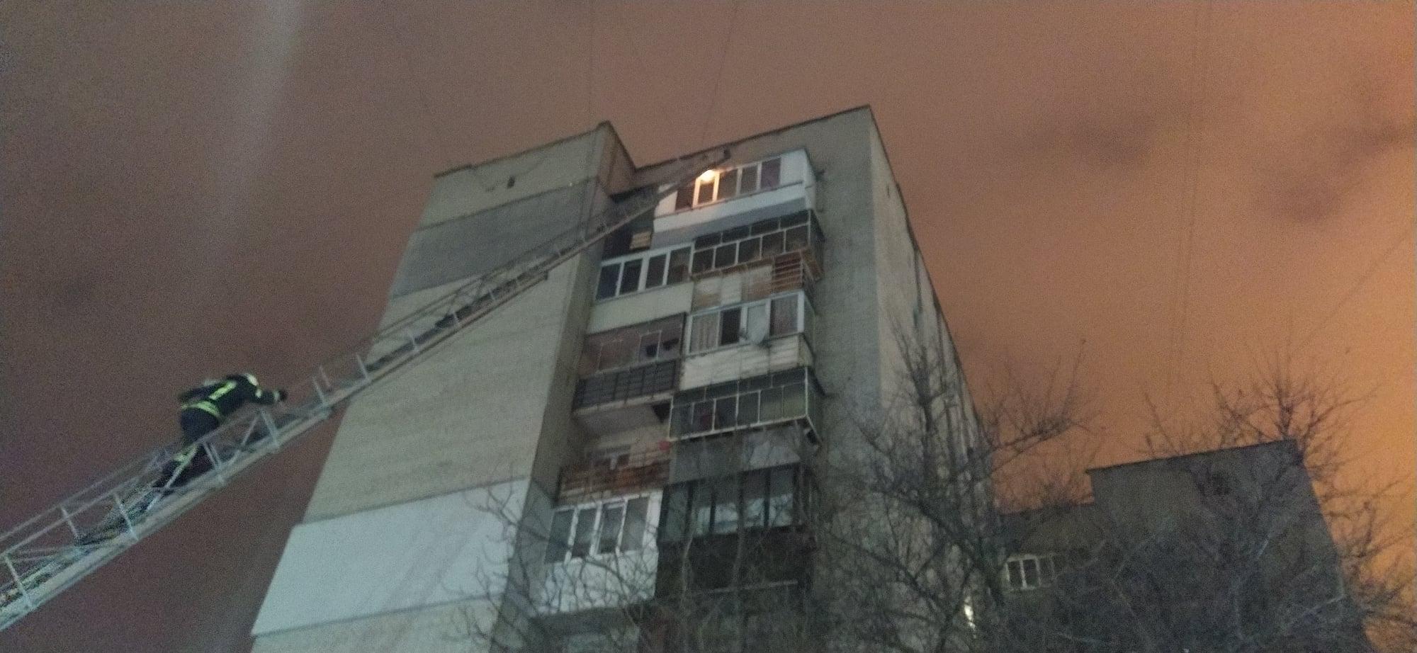 В Броварах горів балкон на 9 поверсі багатоповерхівки - рятувальники, вогонь - 145283967 1825190960964475 4191912237312195144 o