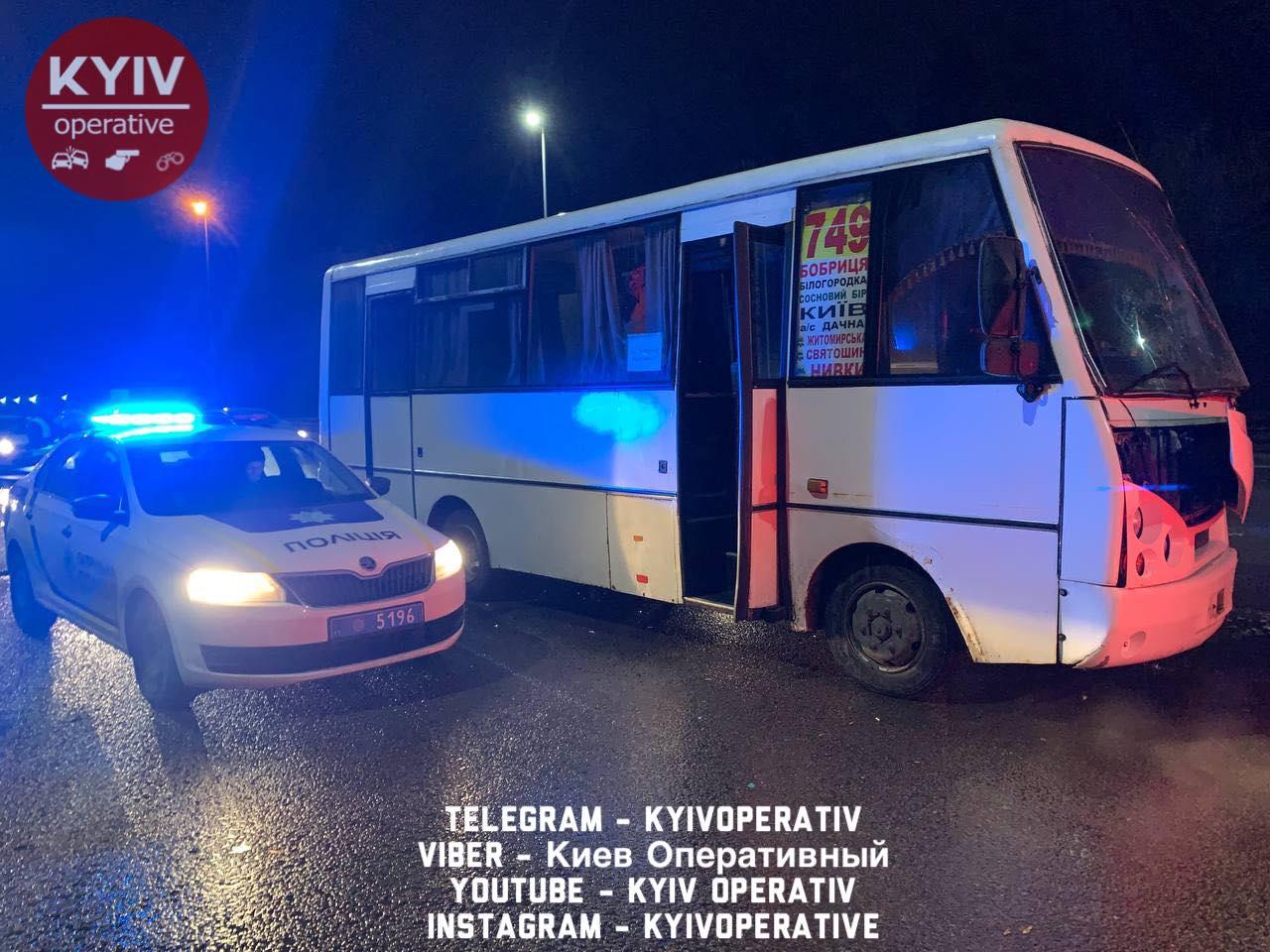 Мікроавтобус врізався у маршрутку: аварія на Житомирській трасі -  - 146062527 1194511254278292 2775737918901371971 o