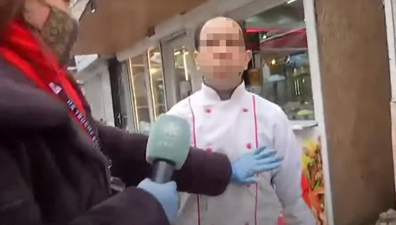 У Києві чоловік напав на знімальну групу - напад на журналіста, іноземець, Журналісти - 146137852 4196305103714153 7522789161911327369 o