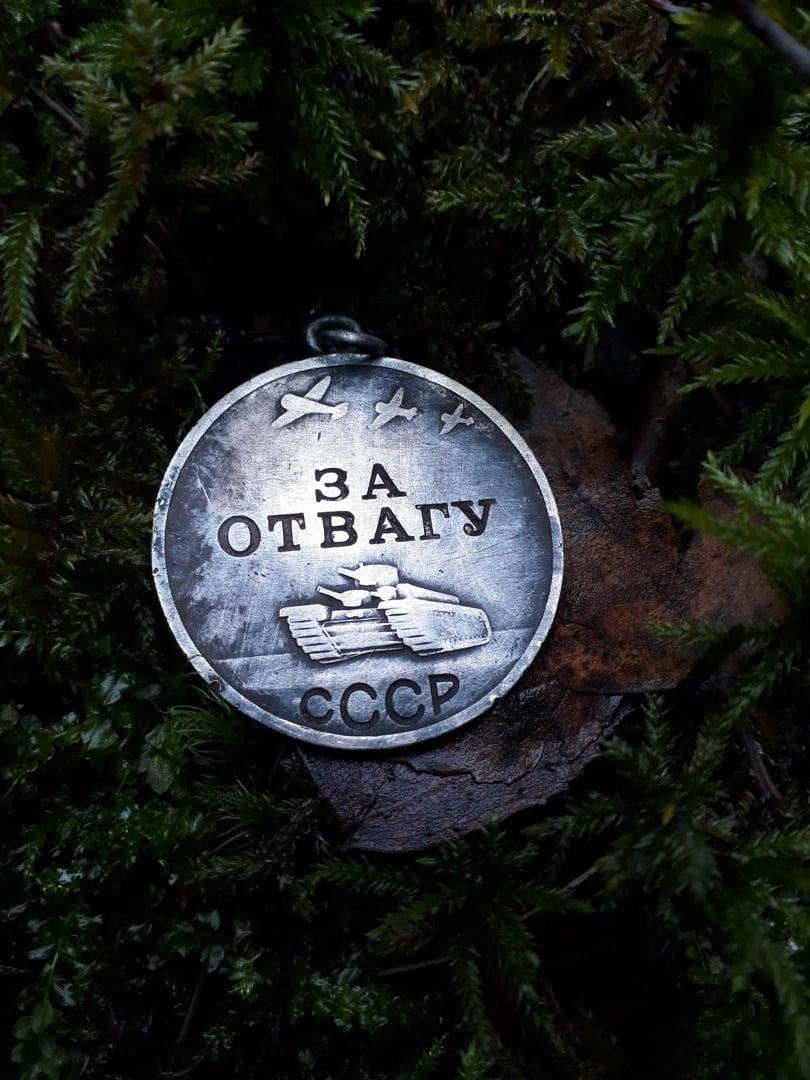 В Естонії знайшли медаль «За відвагу» червоноармійця із Київщини - Солдати, історія, Друга світова війна - 146778211 4089782131052534 5979707283273582351 o