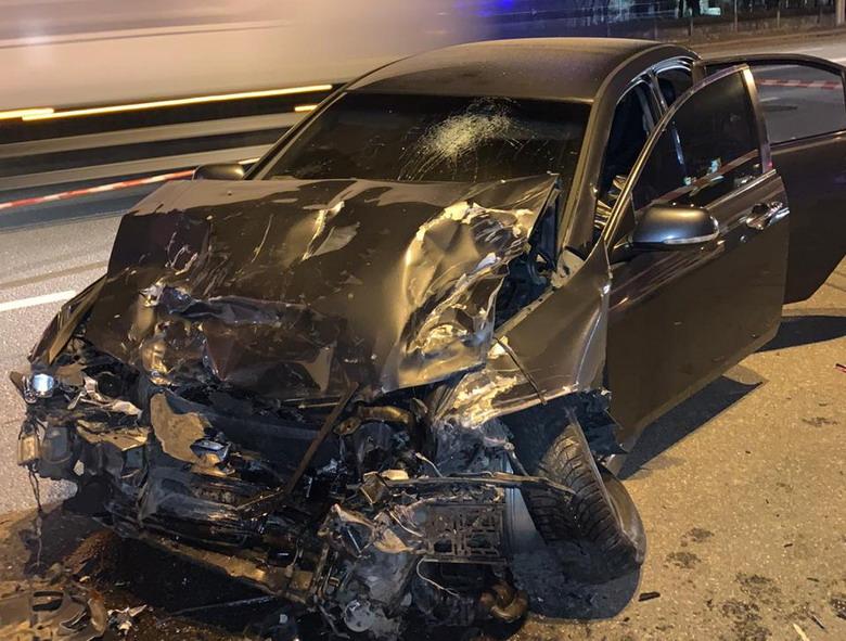 На Броварському проспекті сталася смертельна ДТП - легковик, Аварія на дорозі - 147109814 3686003071455437 6943609150973902042 n
