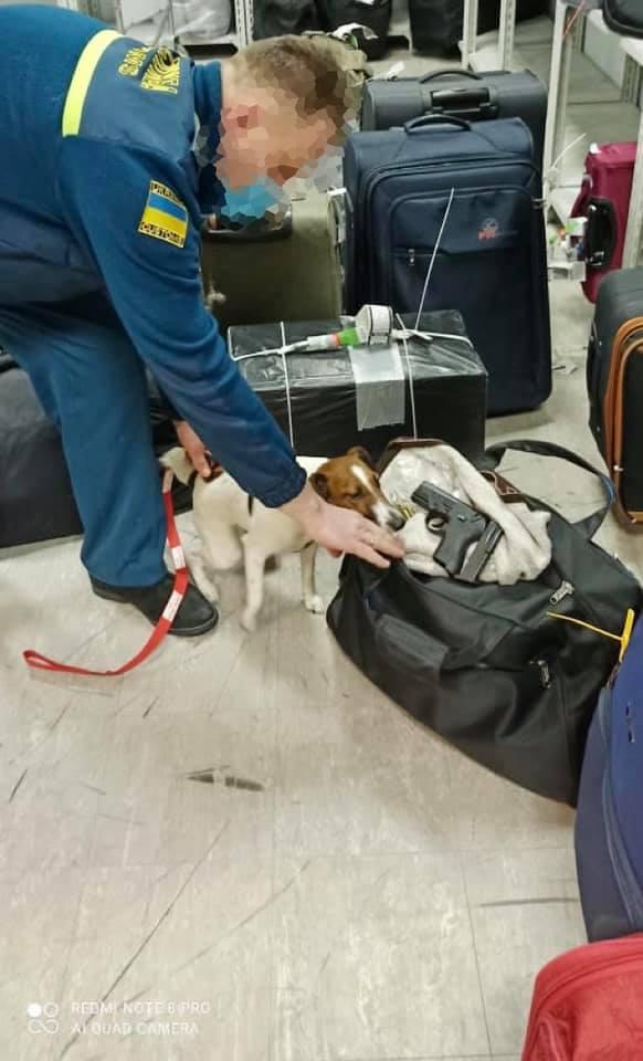 У «Борисполі» в одного із пасажирів виявили пістолет з набоями - Київська митниця, зброя, аеропорт «Бориспіль» - 147165760 3865379996856100 5250796998006605997 n