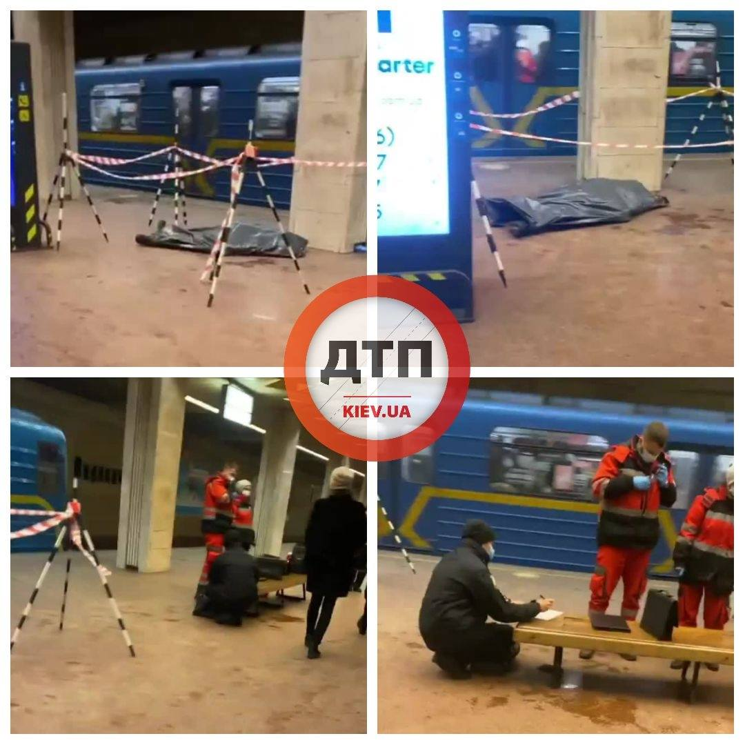 У столичному метро помер пасажир - Смерть людини, Поліція, метрополітен - 149231616 1910066099159274 3102626402585198190 o