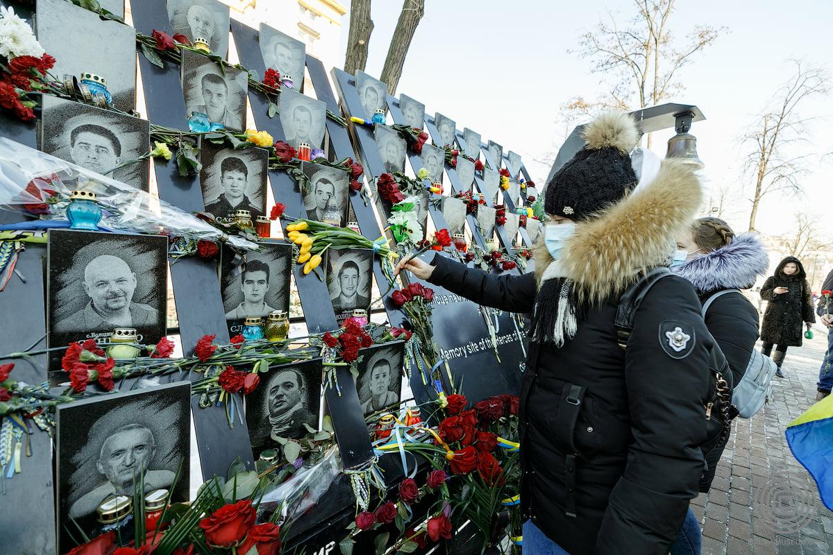 Увечері 20 лютого у Києві запалають Промені Гідності - столиця, річниця, Революція Гідності, Заходи, Герої Небесної сотні - 151527278 2492927121014459 6742739134189058943 o