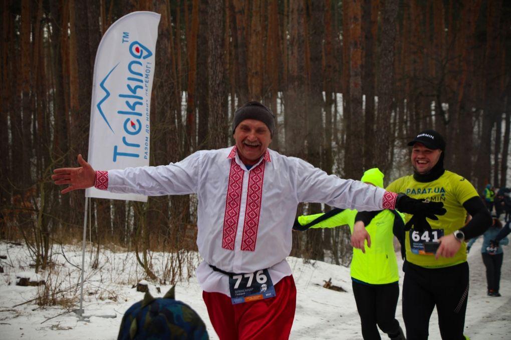 У Києві відбувся зимовий крос - крос, Зима, Біг - 181941