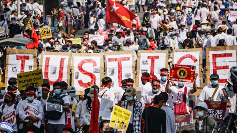 М'янма: країною прокотилася хвиля протестів - США, протести, ООН, надзвичайна ситуація, конфлікт, Азія - 23 mnma