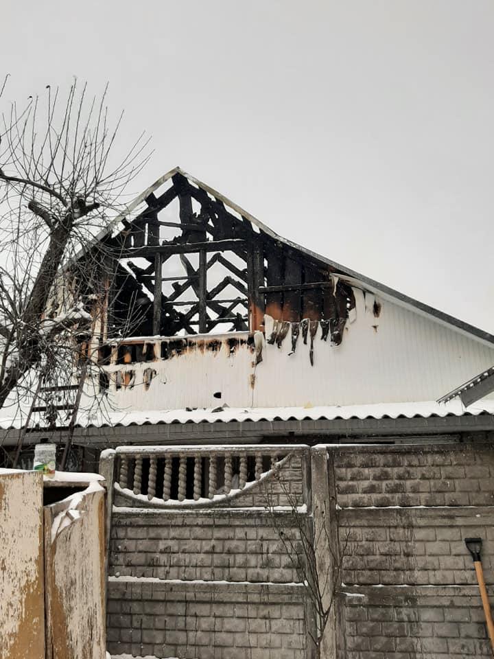 Погорільці з Ірпеня потребують допомоги - Приватний сектор, загорання житлового будинку, житловий будинок, ДСНС, вогонь - 3