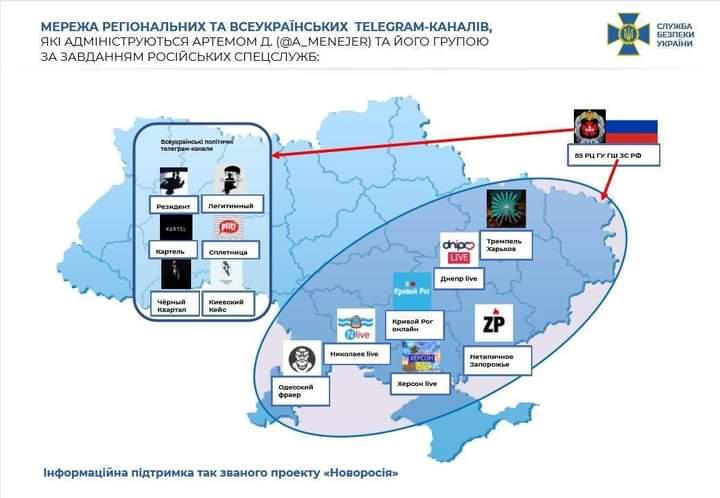 Працюють на Росію: СБУ викрила 12 сепаратистських Telegram-каналів (список) - Сепаратизм, СБУ, РФ, Росія, Telegram - FB IMG 1612186021429
