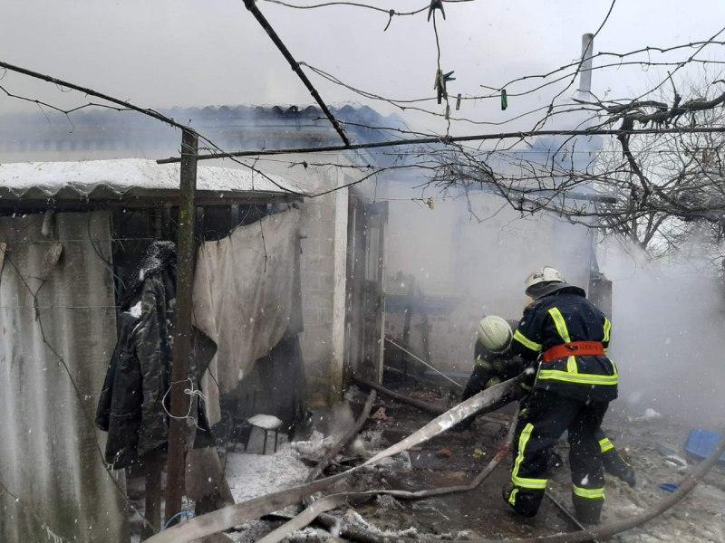 Загиблого чоловіка знайшли під час пожежі у Білогородці - пожежа будинку, Загиблий, Бучанський район, Білогородка - IMG 20210212 093153 047