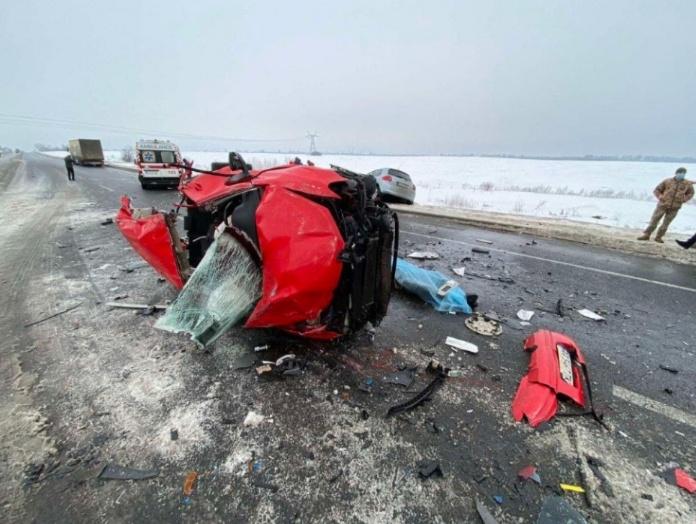Загинули двоє людей: ДТП за участю 5 авто сталося на Броварщині - Скибин, Залісся, Броварський район, Аварія - IMG 20210223 100716 1