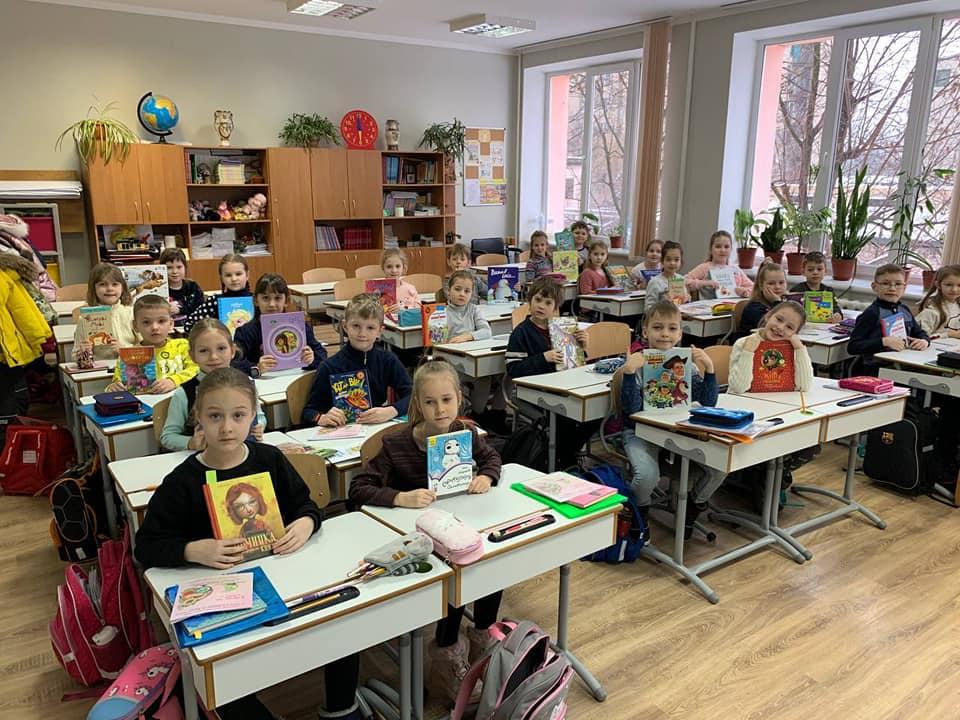 У Вишгородському «Інтелекті» читали вголос - школа, читання, Освіта, Вишгородський район - Intelekt1