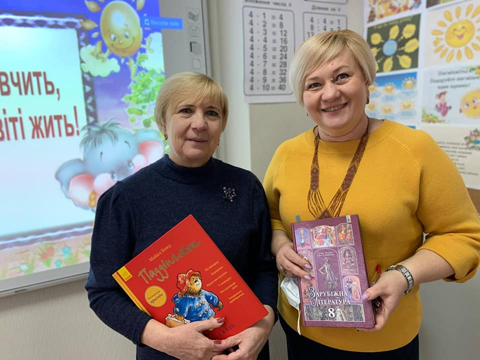 У Вишгородському «Інтелекті» читали вголос - школа, читання, Освіта, Вишгородський район - Inyelekt2