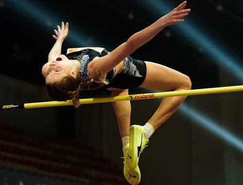 Видатний стрибок Ярослави Магучіх: 2 м 6 см - спортивні змагання, Перемога, легка атлетика - Mahuchikh BBLatka2021 Photo Pavol Uhrin