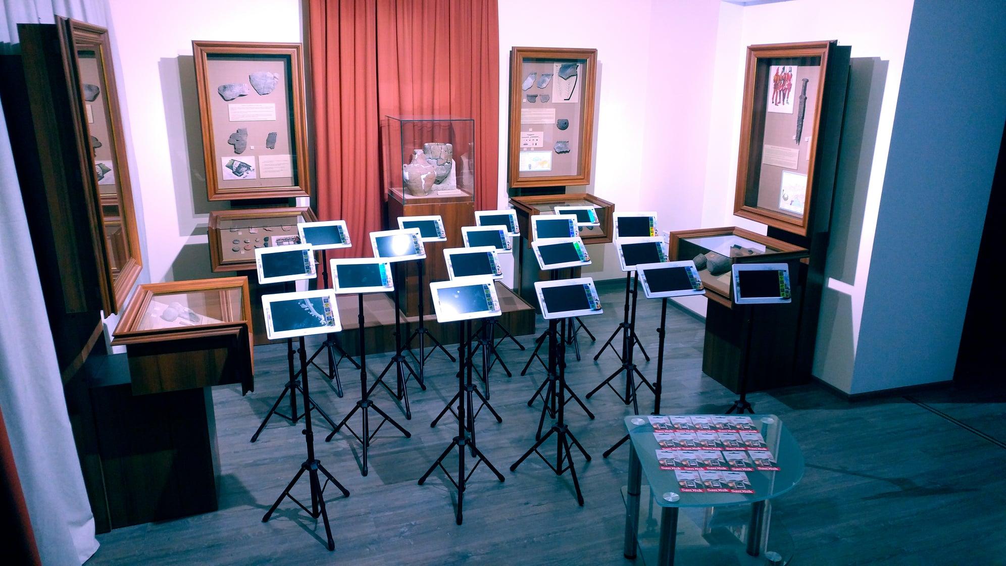 Нові технології в історичному музеї Вишгорода - технології, музей, ВІКЗ - VIKZ2