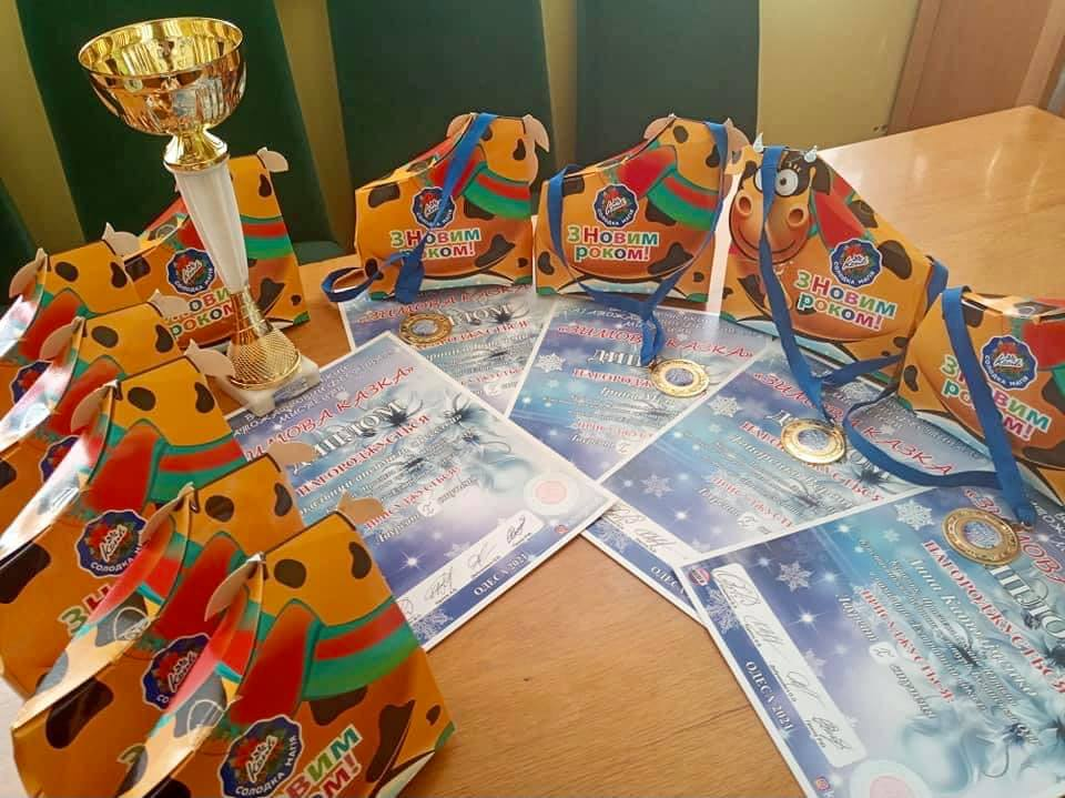 «Зимова казка»: нагороди для блиставицької «Веселки» (Бучанська МТГ) - Мистецтво, всеукраїнський фестиваль, Бучанська ОТГ, Блиставиця - Veselka Zym kaz 1