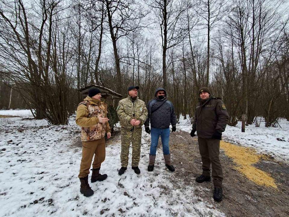 На Вишгородщині здійснюють таксацію диких тварин - довкілля, дикі тварини, Вишгородський район - Vysh MYs3