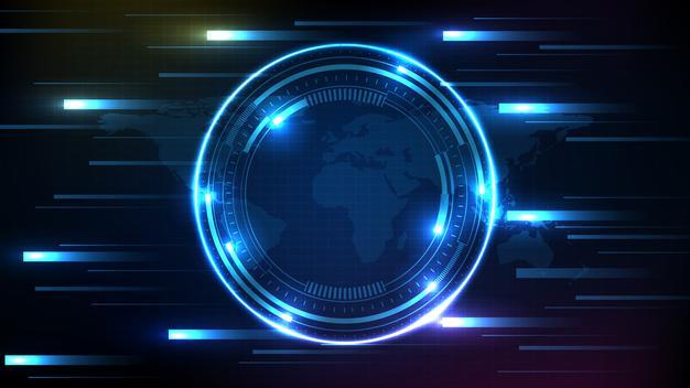 У рейтингу інноваційності країн Україна на 45 місці - Україна, технології, світ, рейтинг, інновації - abstract background of blue futuristic technology hud display interface 35887 774