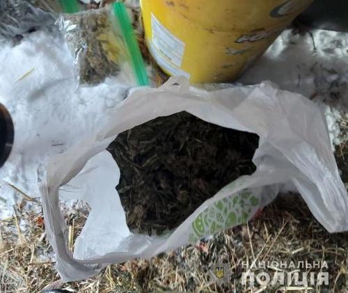У жителя Білоцерківщини під час обшуку вилучили 2 кг марихуани - правоохоронці, наркотики, конопля - belkanarko5
