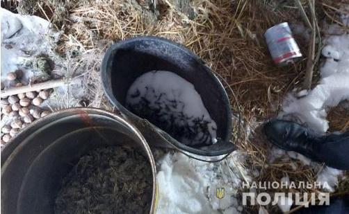 У жителя Білоцерківщини під час обшуку вилучили 2 кг марихуани - правоохоронці, наркотики, конопля - belkanarkozlochyn